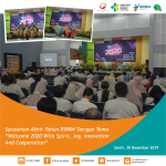 "Sarasehan Akhir Tahun RSPAW Dengan Tema ""Welcome 2020 With Spirit, Joy, Innovation And Cooperation"""